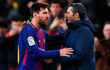 Lionel Messi culpó a Ernesto Valverde por la eliminación en Champions League