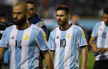 Selección Argentina desciende en el ranking FIFA