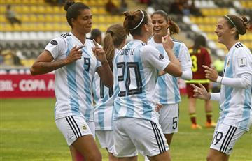 Argentina logró clasificar de ronda en la Copa América Femenina