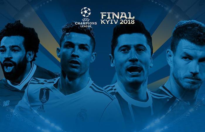 Las semis serán Bayern-Madrid, mientras que está el Liverpool-Roma. Foto: Twitter