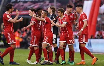Bayern Múnich consigue importante triunfo y ya piensa en el Real Madrid