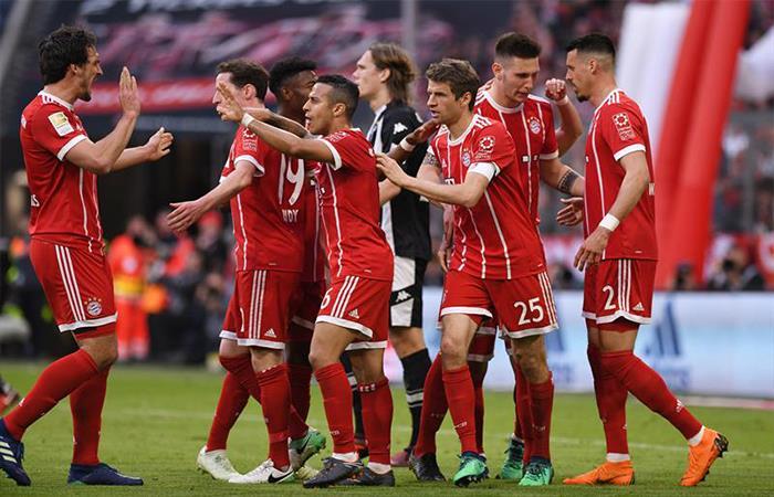 Bayern Múnich (Foto: Twitter)