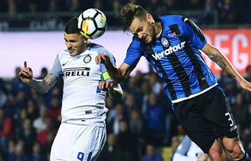 Inter de Icardi no pudo ante el Atalanta de Alejandro Gómez