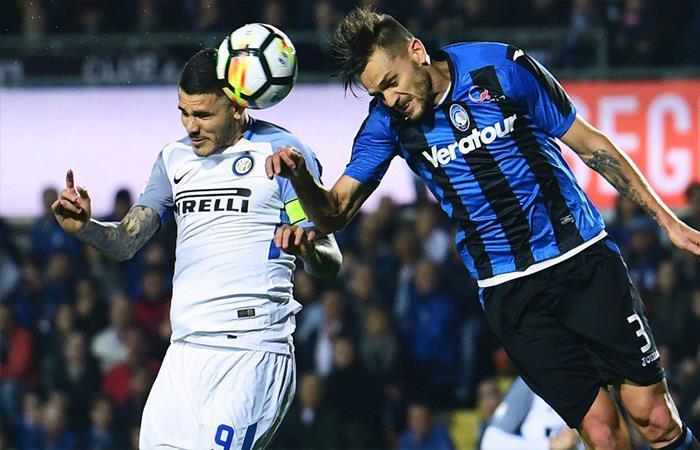 Inter de Milan igualó 0-0 contra el Atalanta (Foto: Twitter)