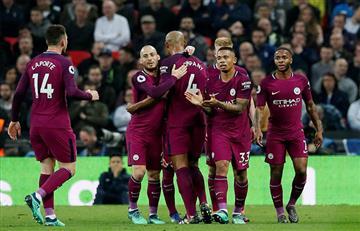 Manchester City de Agüero y Otamendi cerca de ser campeones de la Premier League