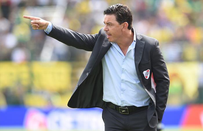 Jorge Sampaoli se reunió con Franco Armani y Enzo Pérez — Selección argentina