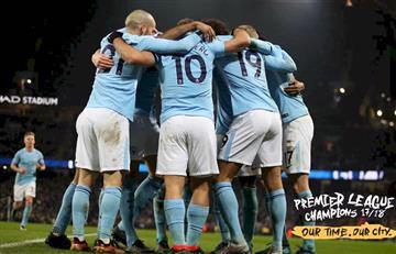 El Manchester City de Agüero y Otamendi se consagró campeón tras la derrota del United
