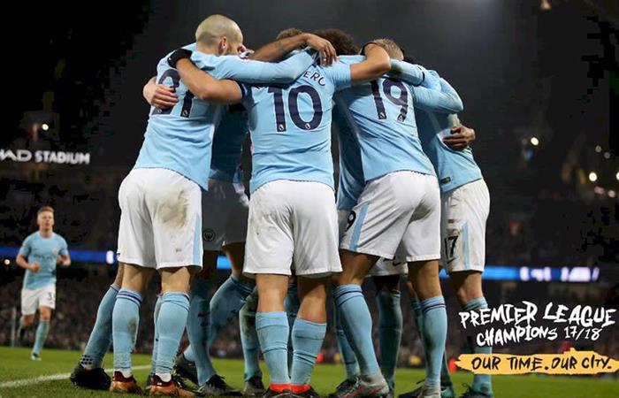 El Manchester City de Agüero y Otamendi se consagraron campeones tras la derrota del United