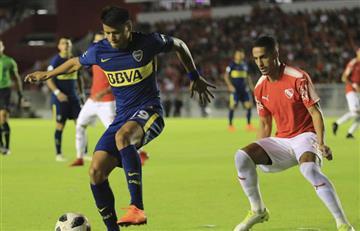 Independiente selló un gran triunfo sobre Boca y le dio vida a la Superliga
