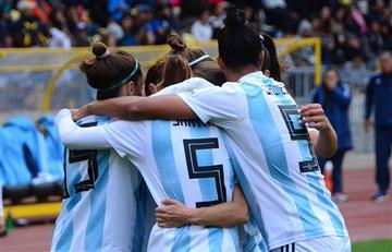 EN VIVO: Argentina ya gana 3-1 ante Colombia por la Copa América Femenina 2018