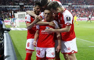 Mainz con doblete de Pablo De Blasis venció a Friburgo por la Bundesliga