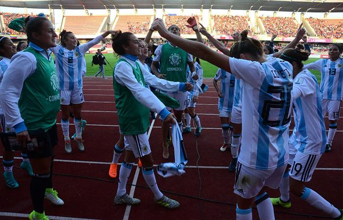 Selección Argentina Femenina de Fútbol. Foto: Twitter