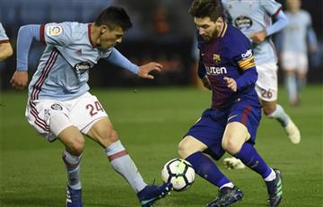 Barcelona de Lionel Messi sigue invicto tras igualar ante el Celta por La Liga