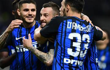 Inter de Mauro Icardi goleó al Cagliari por la Serie A de Italia