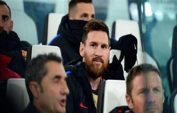 Lionel Messi será suplente en el partido del Barcelona ante el Celta