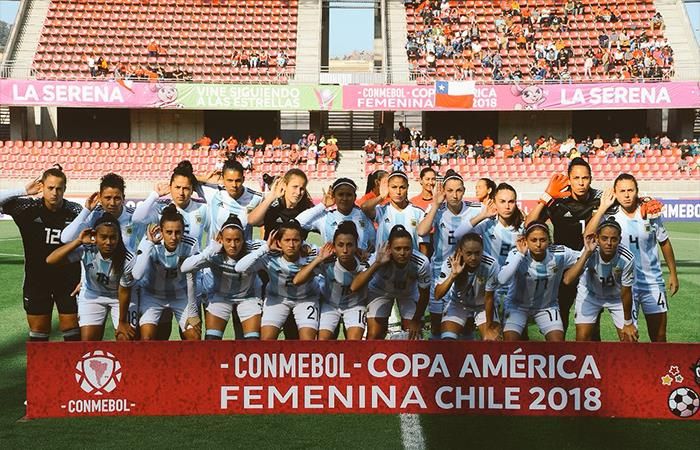 Selección Argentina de Fútbol Femenino (Foto: Twitter)