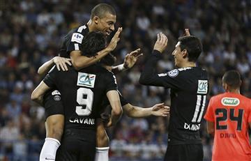 PSG con Di María, Lo Celso y Pastore buscarán levantar la Copa de Francia