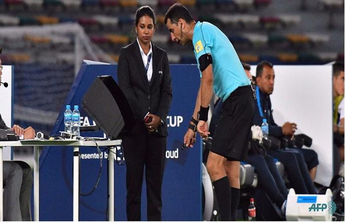 La FIFA especificó el uso del VAR en la Copa del Mundo. (AFP)