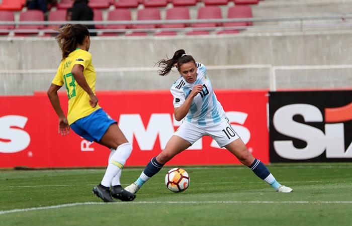 La Selección Argentina Femenina perdió 0-3 la Selección de Brasil. Foto: Facebook