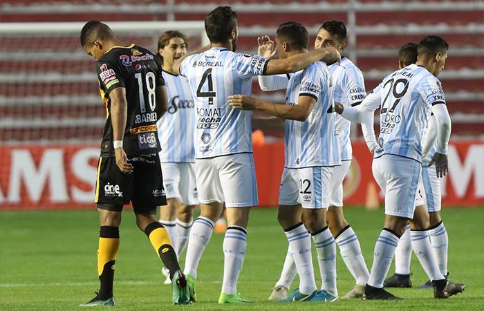 Atlético Tucumán venció 2-1 a The Strongest (Foto: Twitter)