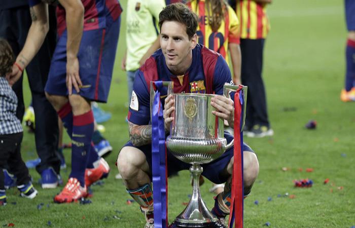 Barcelona tiene su primer título del año gana la Copa del Rey
