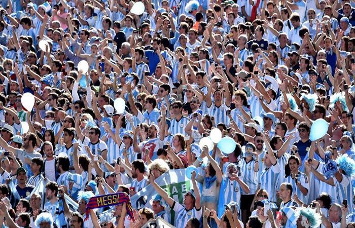 La Selección Argentina tendrá apoyo garantizado en el Mundial. (AFP)