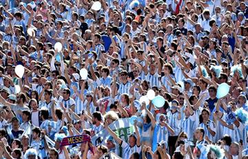 Rusia 2018: Argentina es el país con más entradas solicitadas después de Rusia
