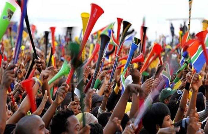 La 'vuvuzela' se popularizó en el Mundial de Sudáfrica 2010. (AFP)