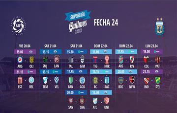 Superliga: análisis de la vigésimo cuarta fecha del torneo argentino