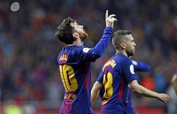 Barcelona de la mano de Messi se coronó con la obtención de la Copa del Rey