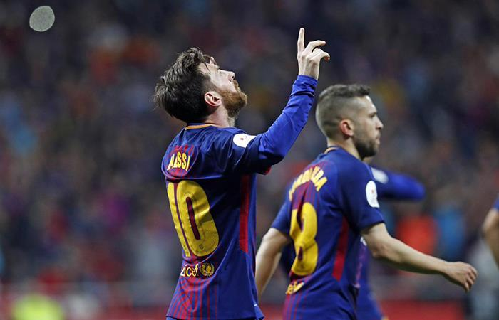 Barcelona es campeón de la Copa del Rey 2018. Foto: Twitter