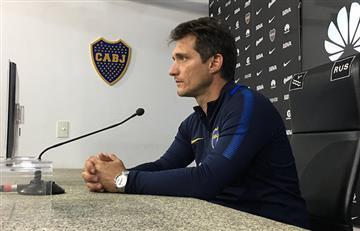 """Guillermo Barros Schelotto: """"El campeonato depende solo de Boca"""""""