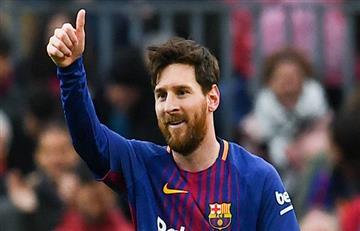 Lionel Messi comanda al Barcelona ante el Sevilla