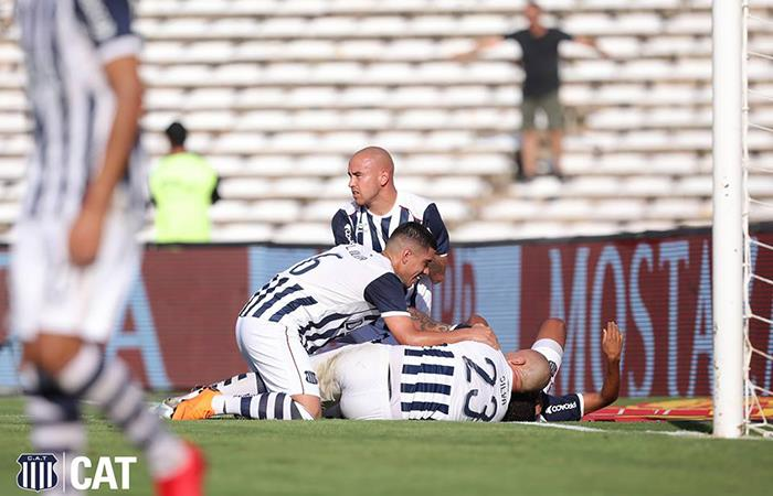 Talleres volvió a la victoria tras ganarle a Gimnasia 2-0 en Córdoba (Foto: Facebook)