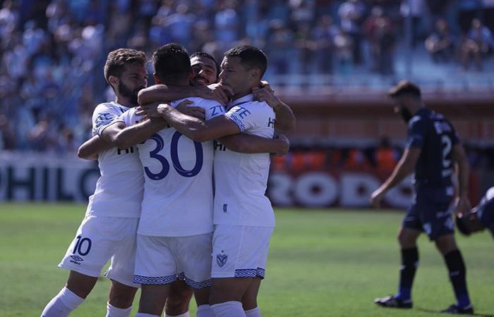 Vélez derrota a Temperley. (FOTO: Twitter)