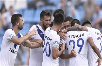Vélez Sarsfield derrotó 4-2 al descendido Temperley por la Superliga