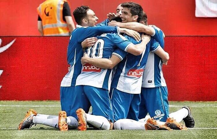 Espanyol derrotó 2-0 a Girona. Foto: Twitter