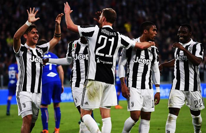 Juventus vs Napoli. Foto: Twitter