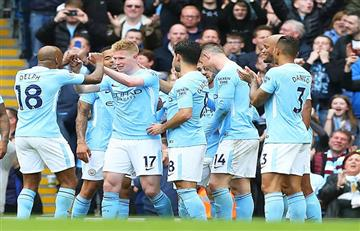 Manchester City sacó lustre a su título con una goleada ante el Swansea