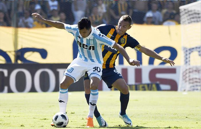 Racing derrotó 2-0 a Rosario Central. Foto: Twitter