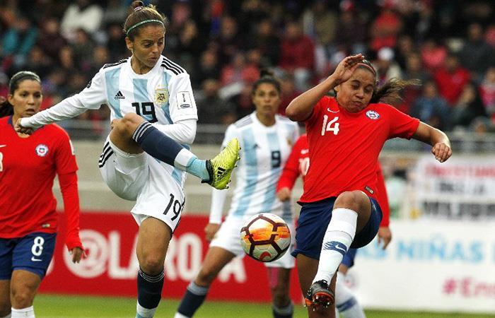 La Argentina no pudo ante Chile. (AFP). Foto: AFP