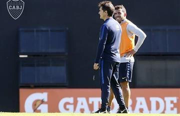 Boca ya alista el once para enfrentar a Palmeiras