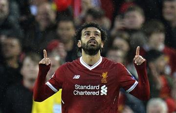 Liverpool vs Roma: mirá los dos golazos de Mohamed Salah en el primer tiempo