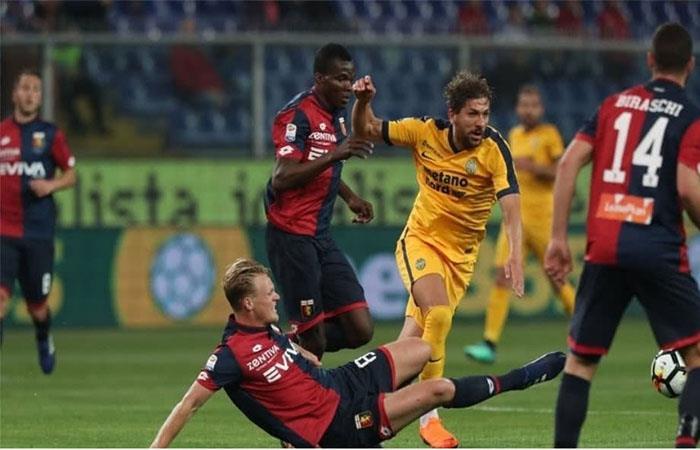 Hellas Verona de Franco Zuculini no pudo ante el Génova y se complica en la Serie A