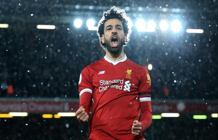 Mohamed Salah. (AFP)