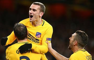 Arsenal empató 1-1 con el Atlético de Madrid por la Europa League