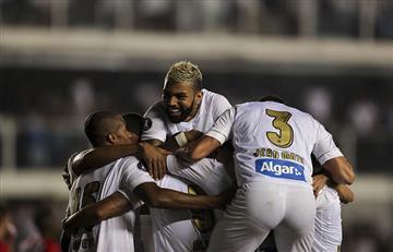Estudiantes cae ante Santos y se complica en la Copa Libertadores