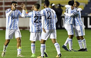 Atlético Tucumán apabulló a The Strongest y se acomoda en la copa