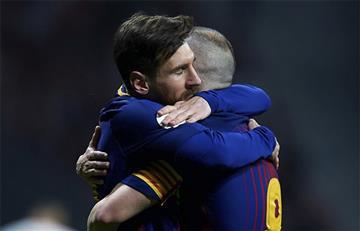Lionel Messi le envió un conmovedor mensaje a Andrés Iniesta