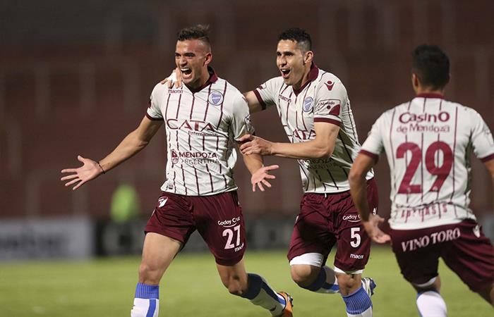 Godoy Cruz derrotó 2-0 a San Martín SJ (Foto: Twitter)